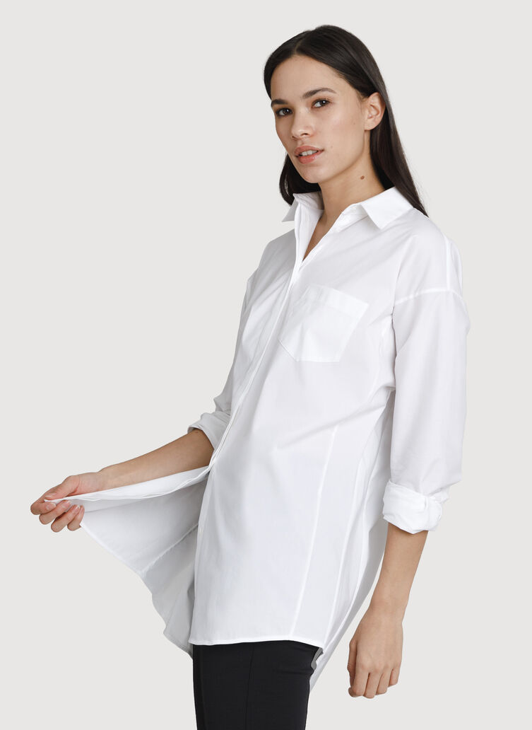 Boyfriend Blouse, Bright White | Kit and Ace