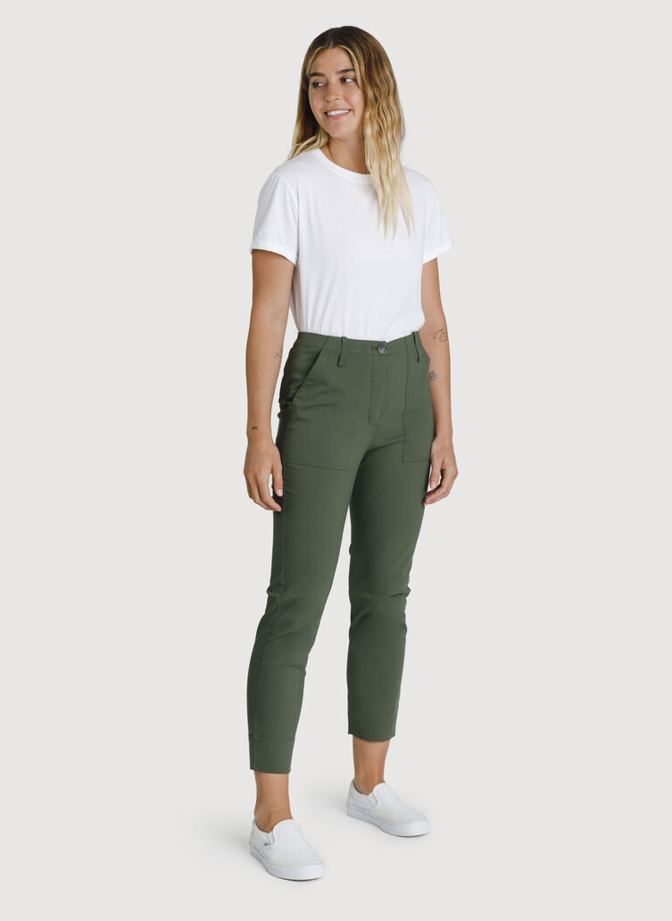 Navigator High Rise Crop, Field | Kit and Ace