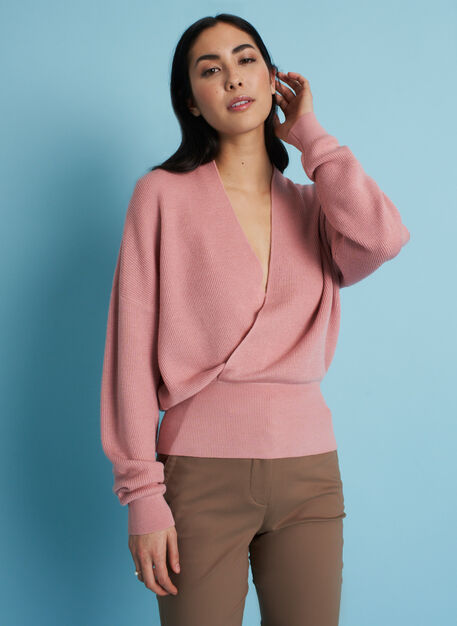 On Point Merino Sweater, Jasper Pink | Kit and Ace