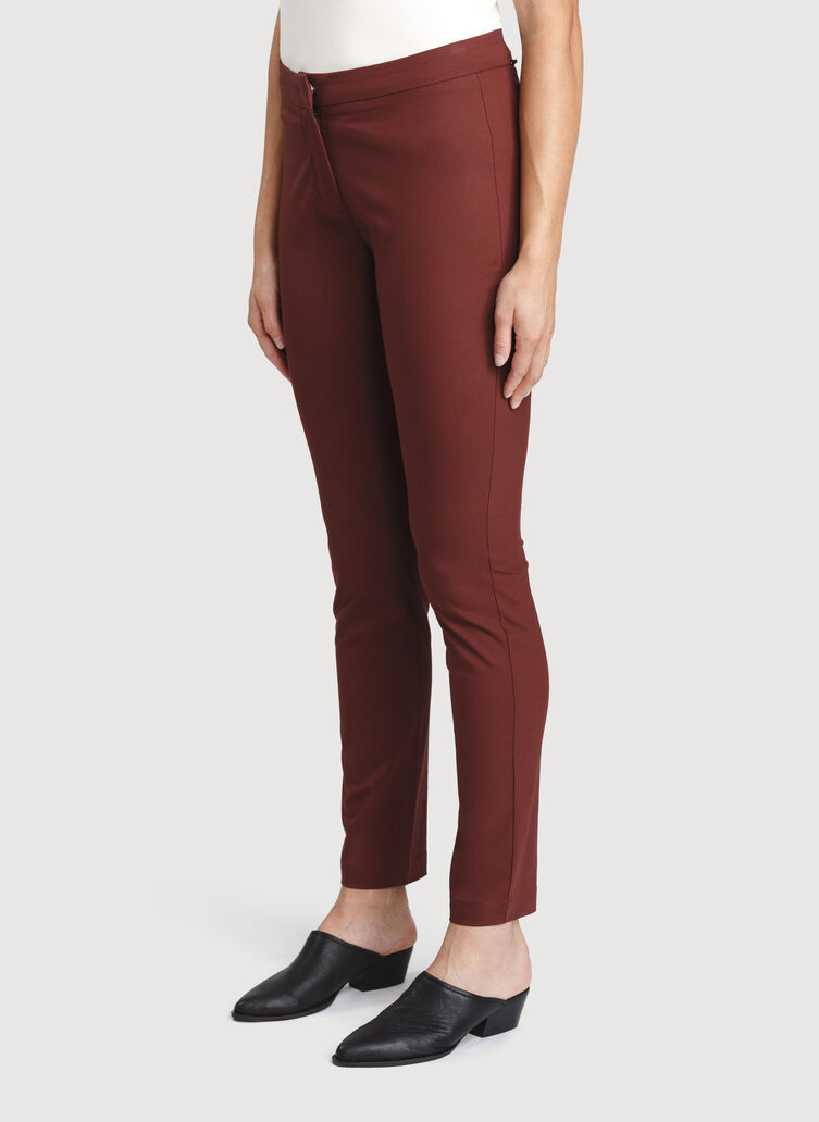 Navigator Ride Pant Skinny Fit, Cherrywood | Kit and Ace