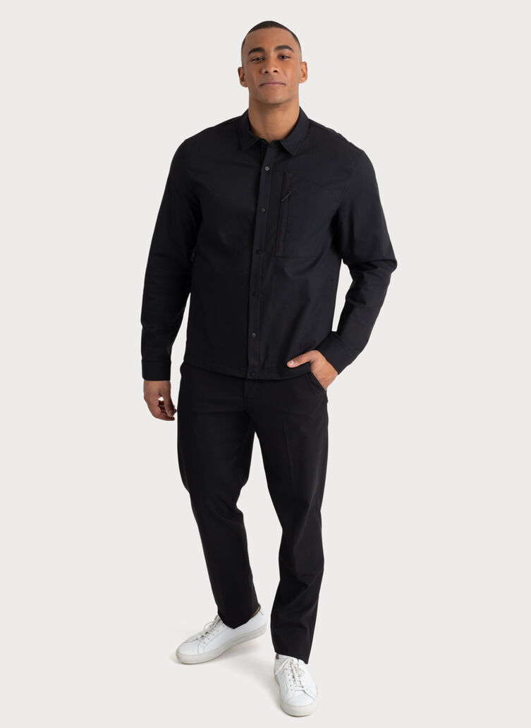 Navigator Stretch Jacket, BLACK | Kit and Ace
