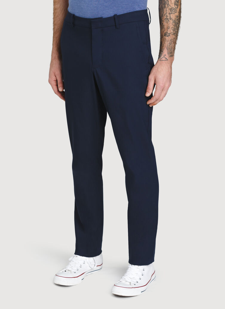 Commute Pant Standard Fit, DARK Navy | Kit and Ace