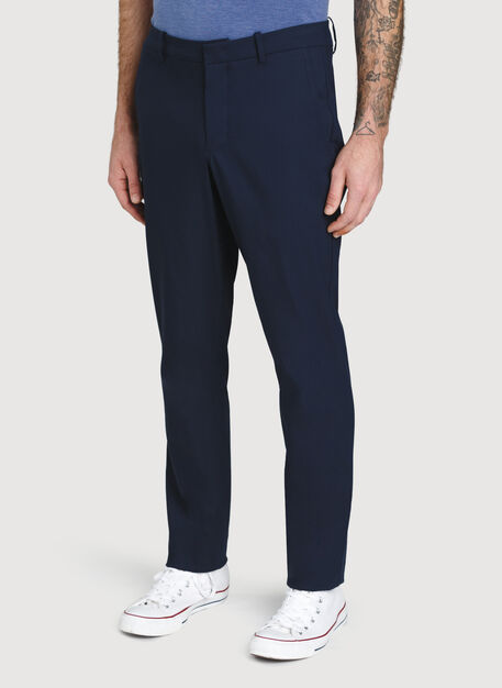 Commute Pants Standard Fit, Dark Navy | Kit and Ace