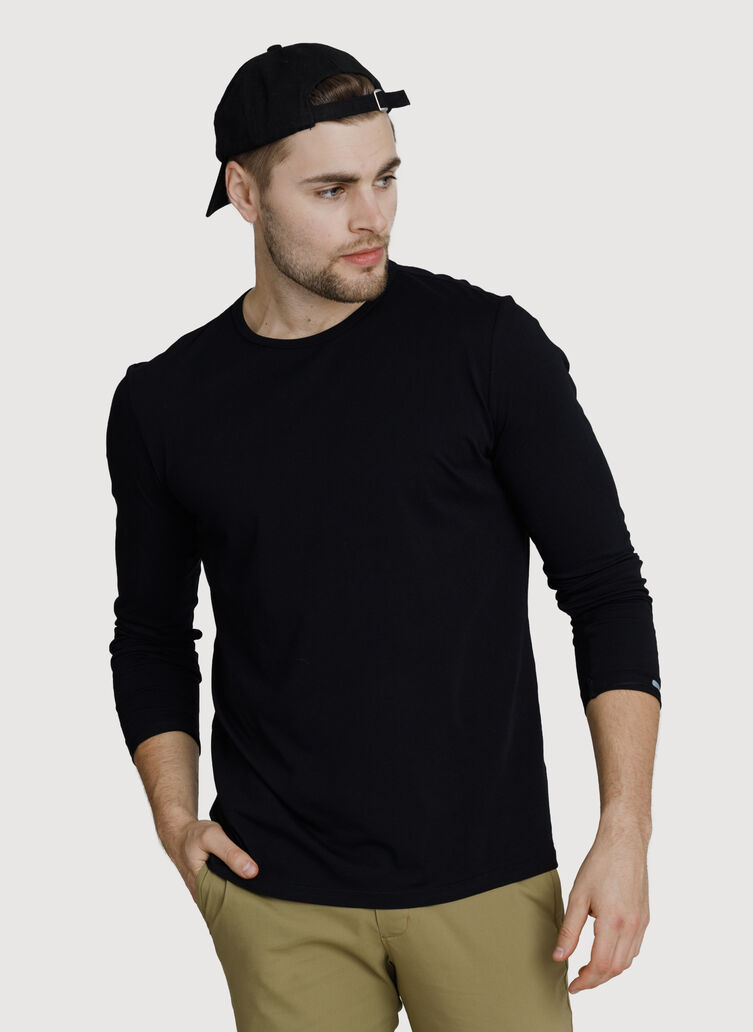 Ace Long Sleeve, BLACK | Kit and Ace