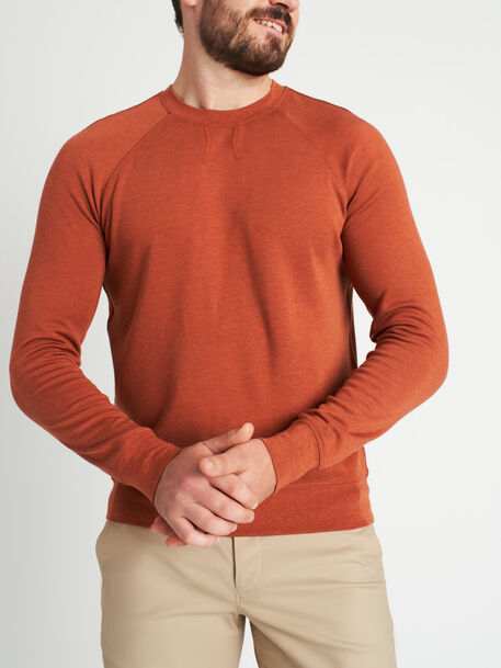 Chillin Pullover, Heather Brick | Kit and Ace
