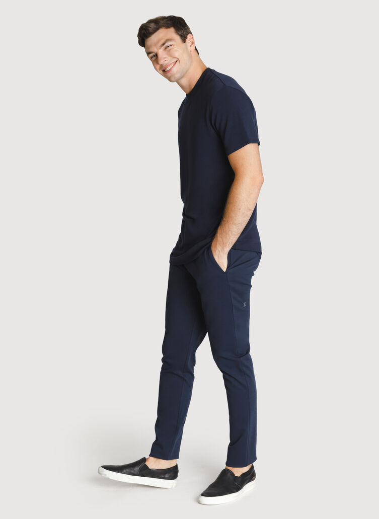Full Speed Bidwell Trouser, HTHR DK Navy | Kit and Ace