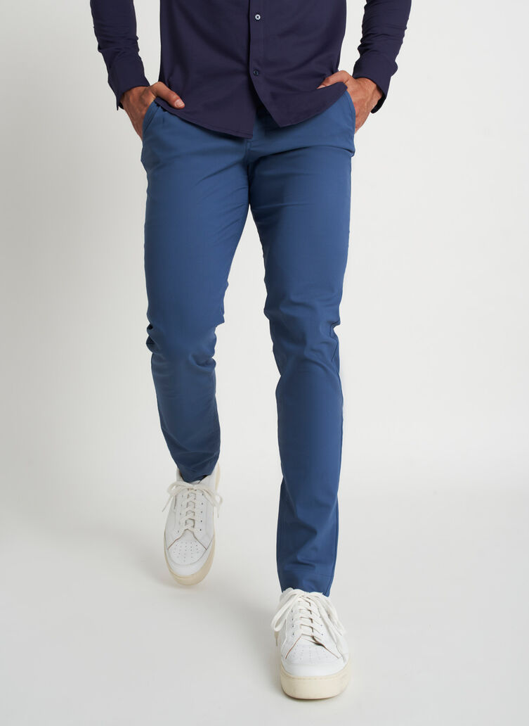 Commute Pants Slim Fit | Navigator Collection, Dark Denim | Kit and Ace