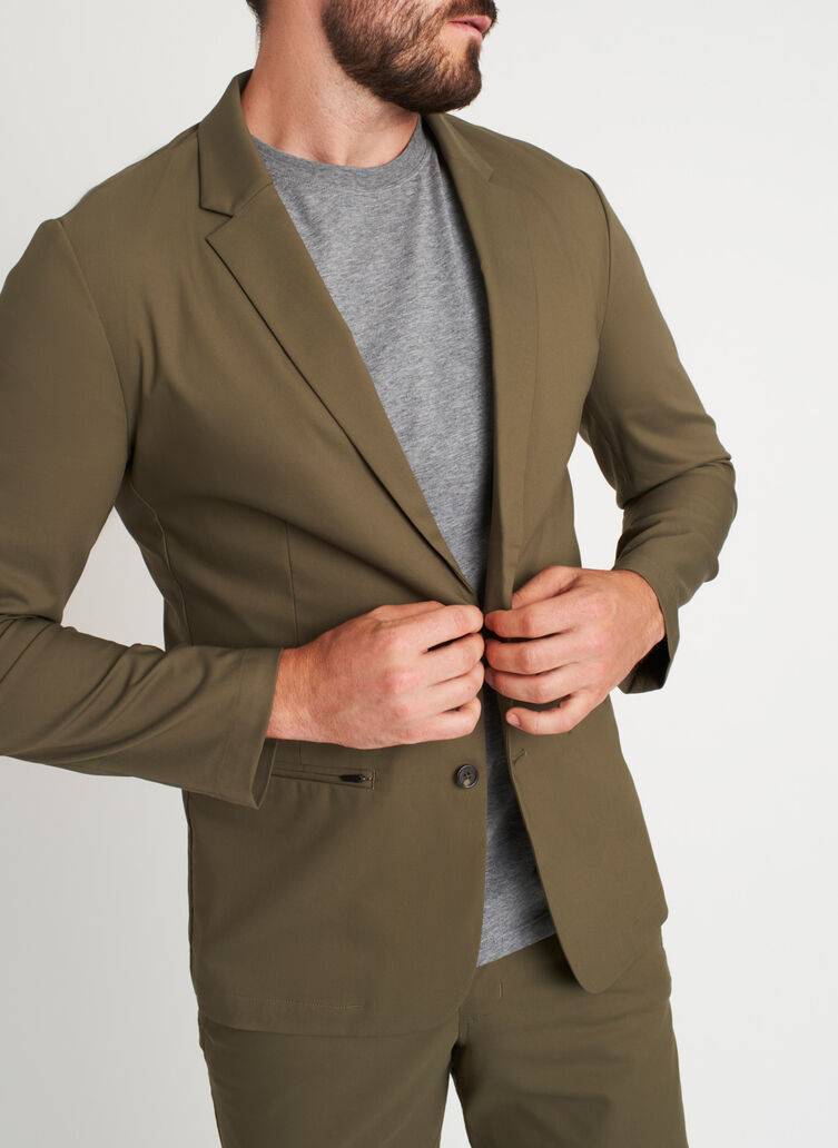 Commute Blazer, Sage | Kit and Ace