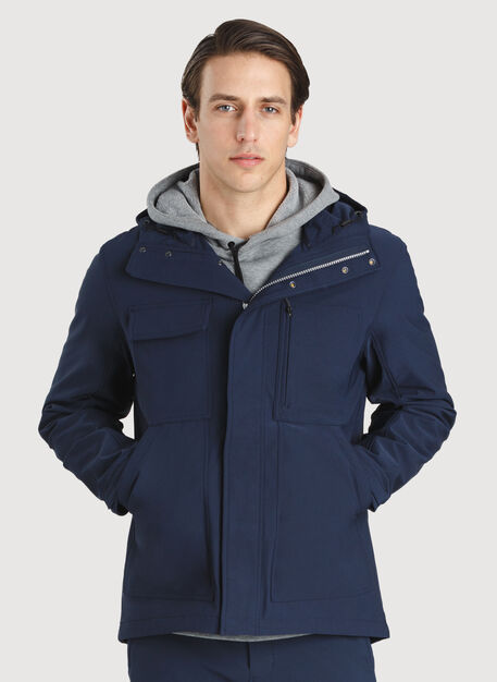 Two Wheeler Jacket, DK Navy | Kit and Ace