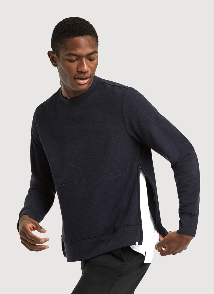 Terry Pullover, HTHR DK Navy | Kit and Ace