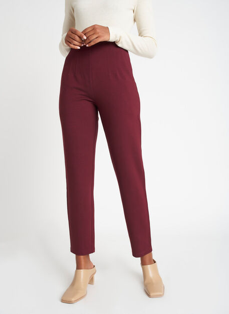 Serenity Pants, Heather Plum | Kit and Ace