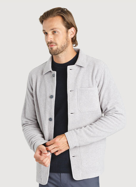 Snug Shirt Jacket, Ash | Kit and Ace