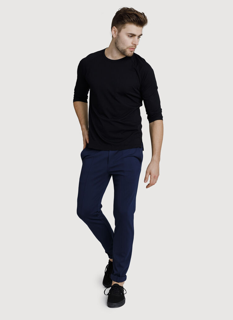 Kaymace Pull-On Pant, Deep Navy | Kit and Ace