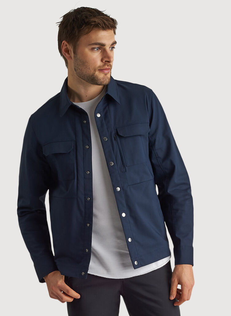 Navigator Commute Jacket, DK Navy | Kit and Ace