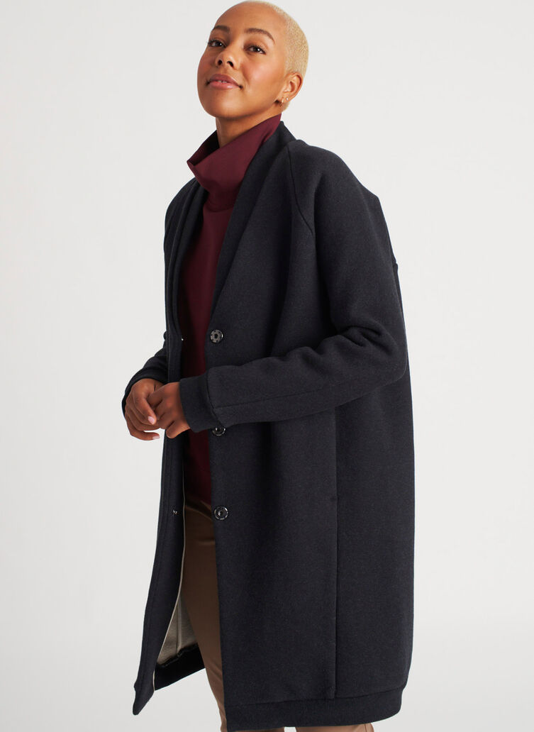 Cut the Cold Jacket, Heather Black | Kit and Ace