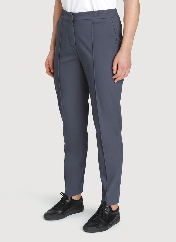 On The Go Ankle Pants | Navigator Collection, Cove Grey | Kit and Ace