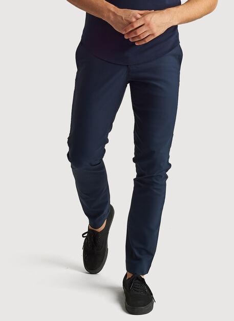 Navigator Tech Vent Pant Standard Fit, DK Navy | Kit and Ace