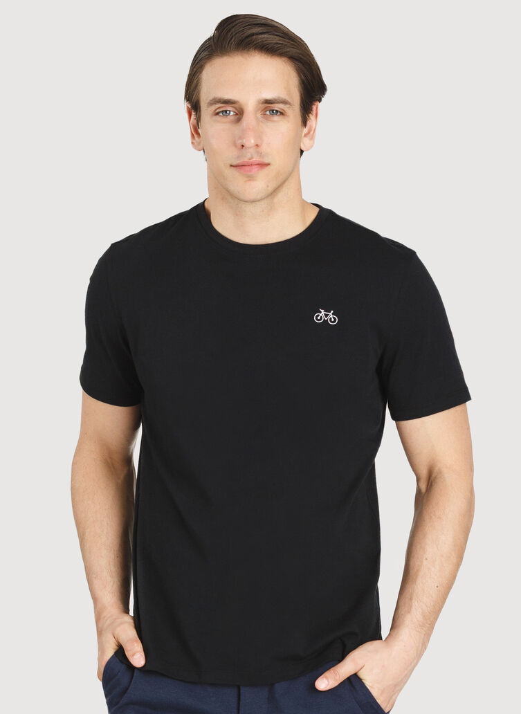 Motion Crew Tee, Black | Kit and Ace