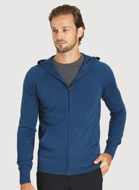 A to B Hoodie, Dark Denim | Kit and Ace
