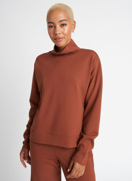 Upgraded Serenity Pullover, Cinnamon | Kit and Ace