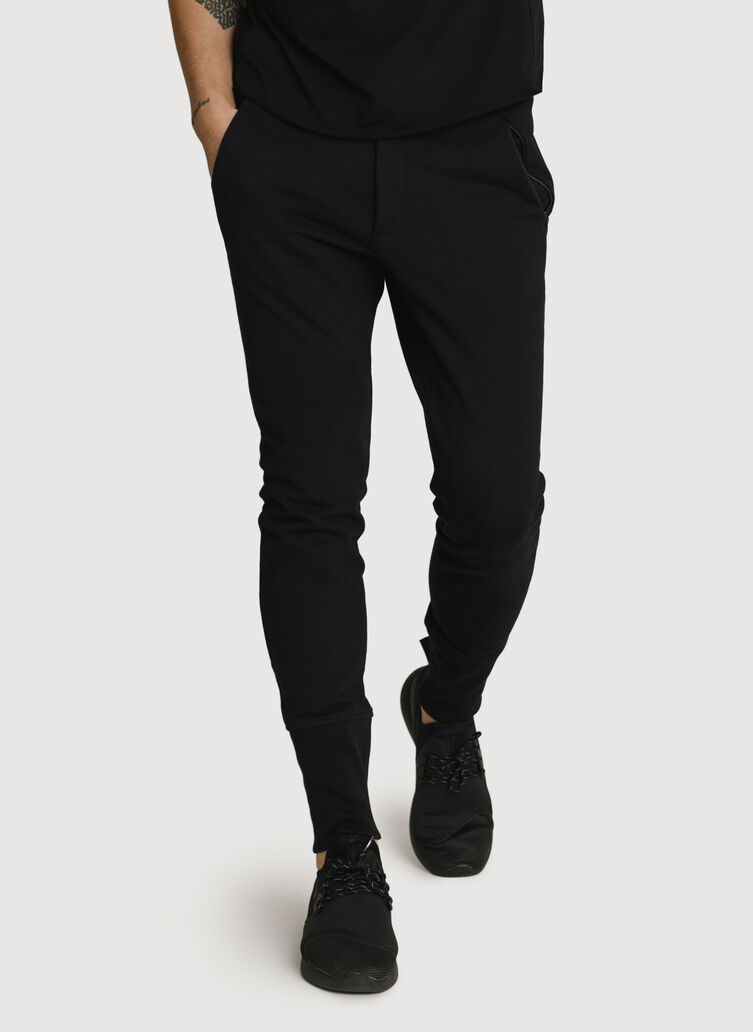 Terry Pants, BLACK | Kit and Ace