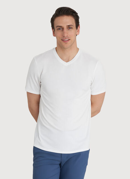 Ace V Tee, Bright White | Kit and Ace