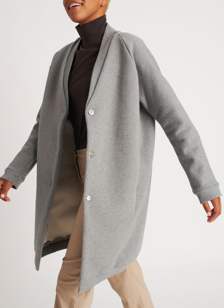Cut the Cold Jacket, Heather Grey | Kit and Ace