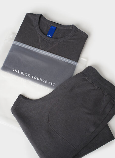 B.F.T. Lounge Set, Heather Charcoal | Kit and Ace