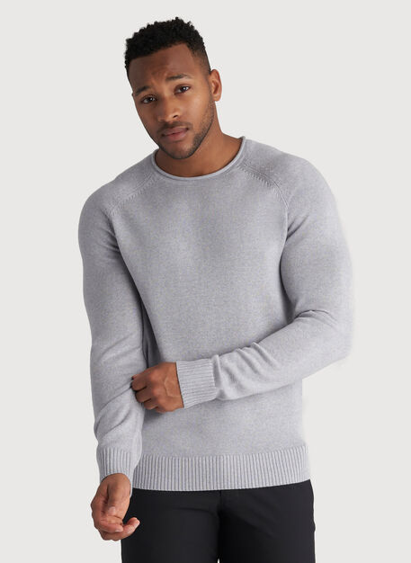 Horizon Sweater, Heather Flint Grey | Kit and Ace