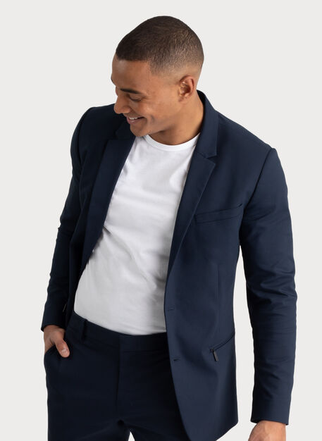 Navigator Stretch Blazer 2.0, Dark Navy | Kit and Ace