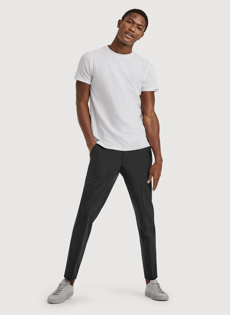 The Main Trouser, HTHR Charcoal | Kit and Ace