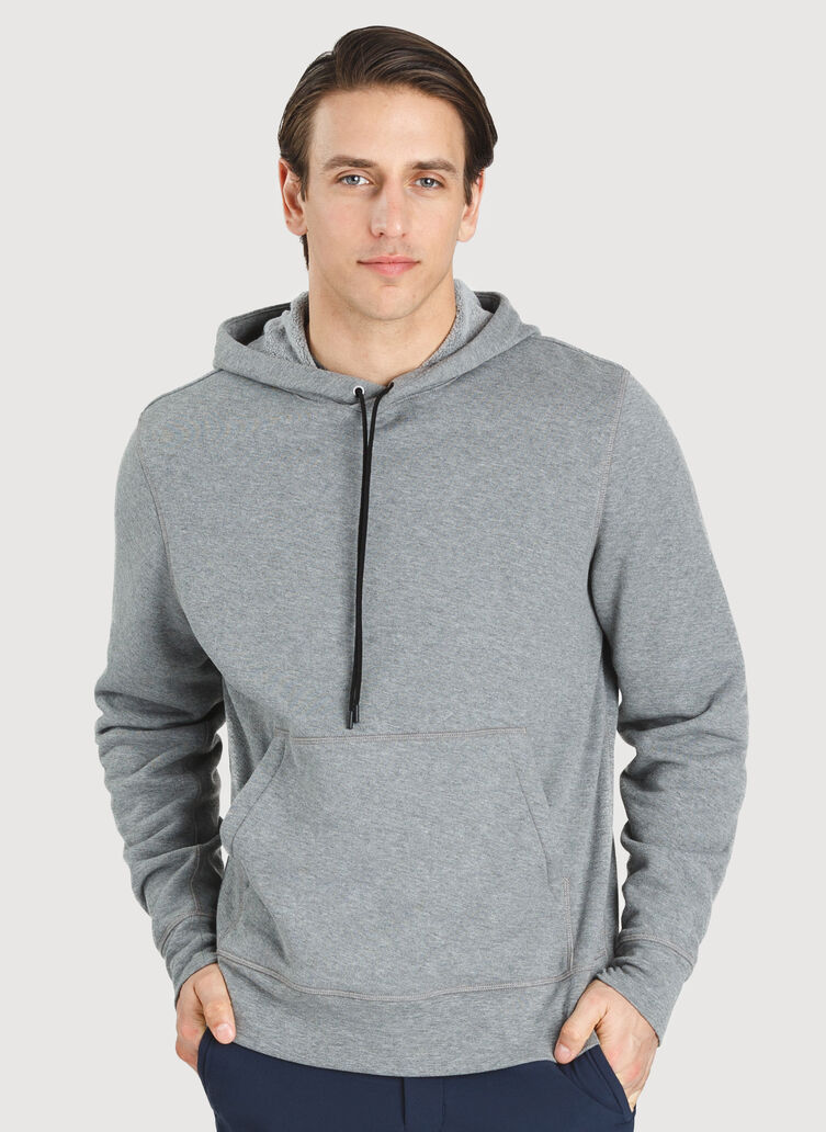 Workday Hoodie, HTHR GREY | Kit and Ace