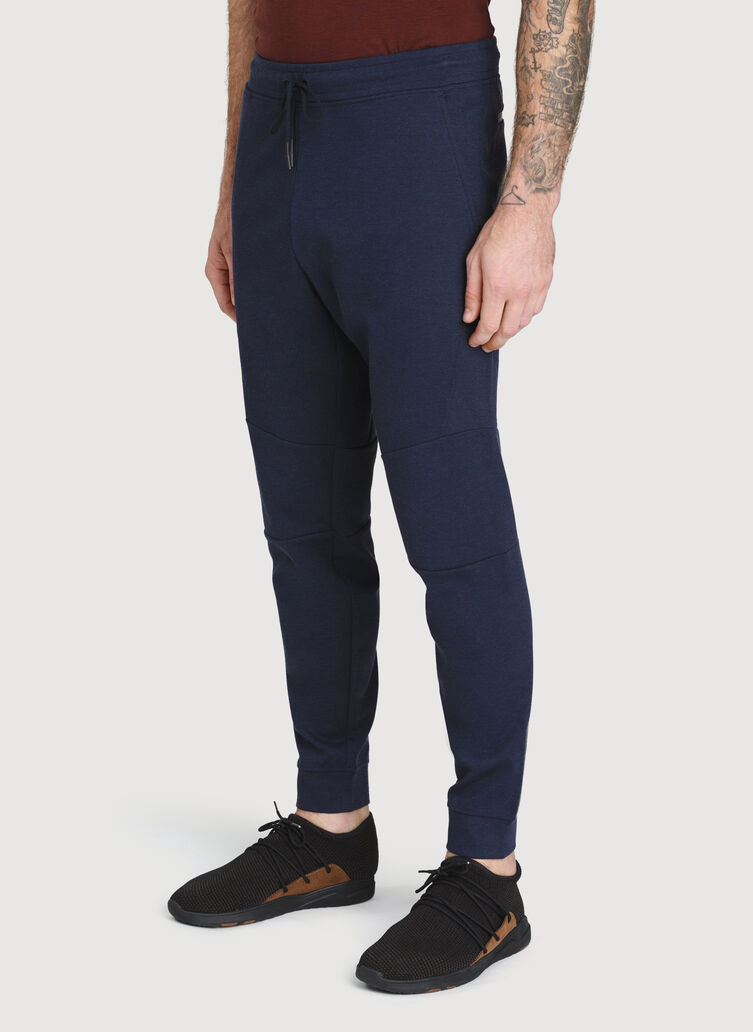 Comfort Joggers, Heather Dark Navy | Kit and Ace