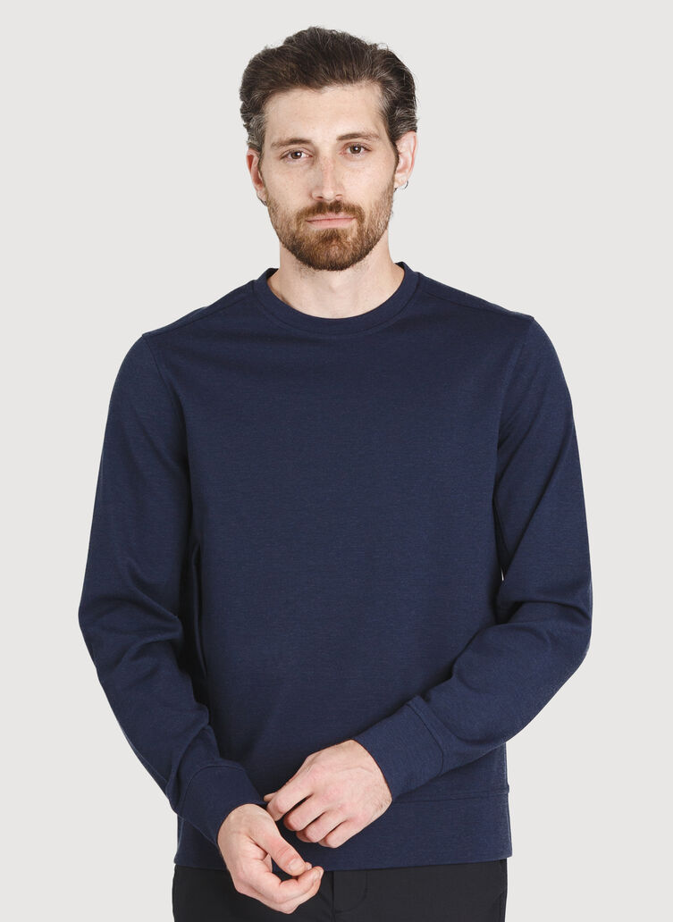 Comfort Pullover, HTHR DK Navy | Kit and Ace