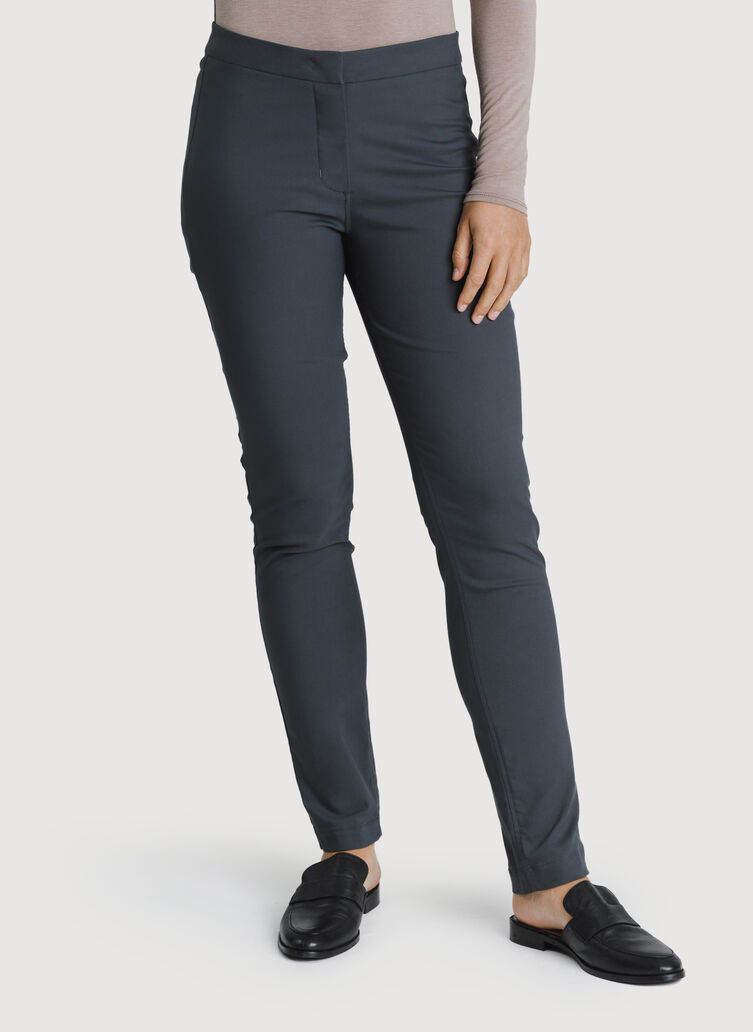Navigator Ride Pant Skinny Fit, Charcoal | Kit and Ace