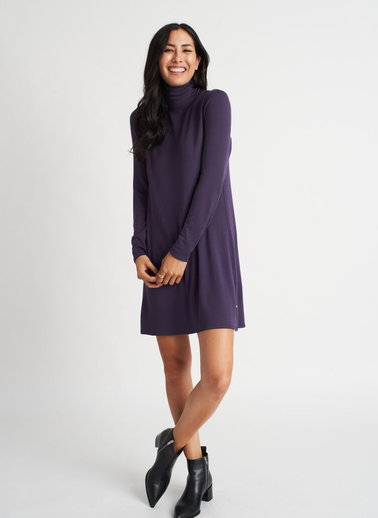 Upgrade Dress, Aubergine | Kit and Ace