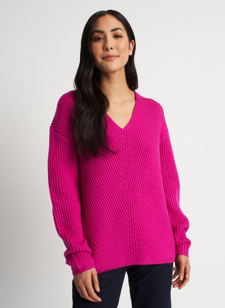 Cloud Merino Sweater, Magenta | Kit and Ace