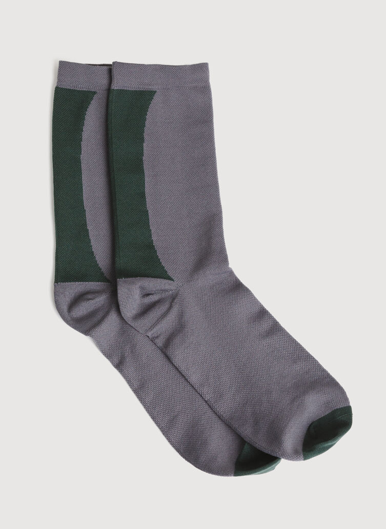 Motion Socks, Charcoal | Kit and Ace