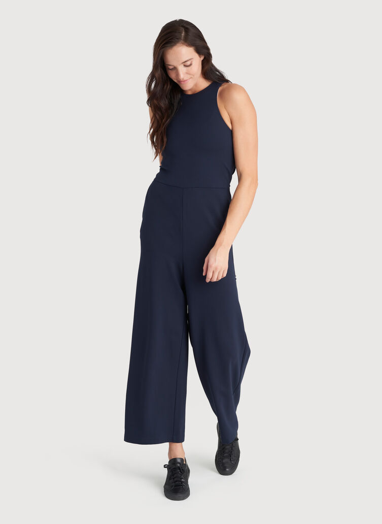 Made to Move Jumpsuit, DK Navy | Kit and Ace