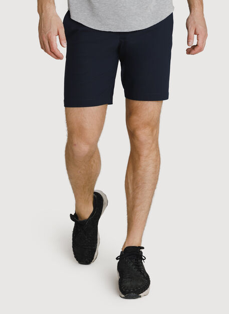 Navigator Stretch Short 2.0, DK Navy | Kit and Ace