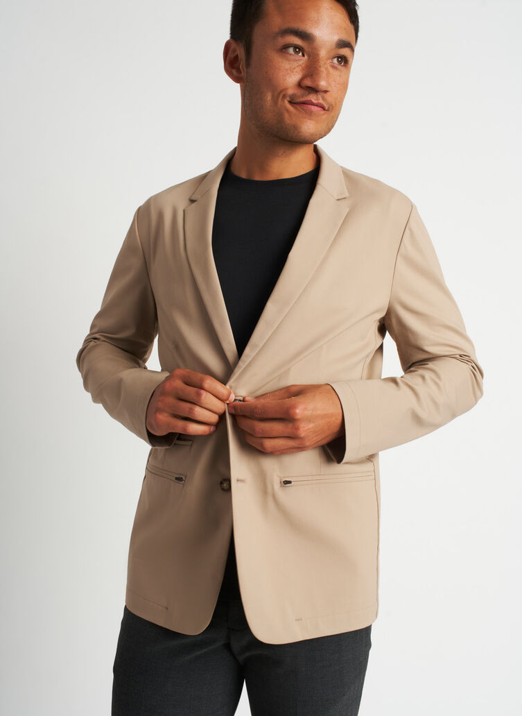 Commute Blazer | Navigator Collection, Driftwood | Kit and Ace