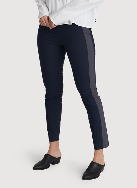 Classic Ankle Pant, DK Navy/Cove Grey | Kit and Ace