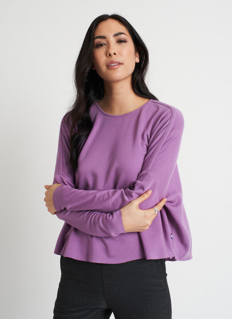 So Soft Pullover, Grape | Kit and Ace
