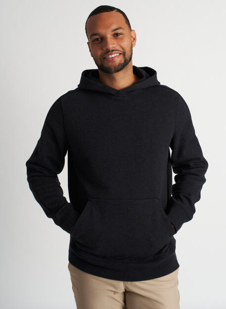 West Coast Hoodie, Heather Black | Kit and Ace