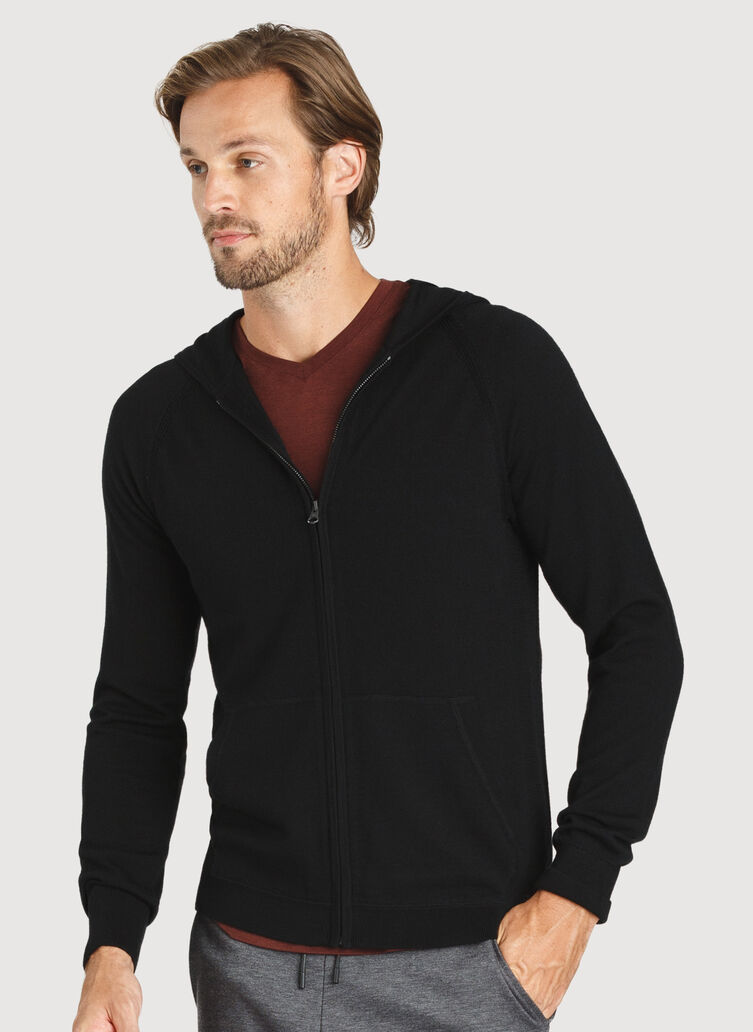 A to B Hoodie, Black | Kit and Ace