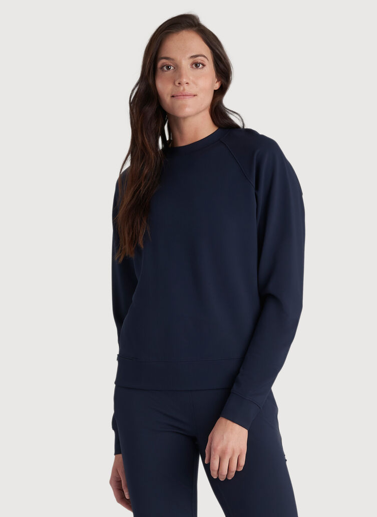 Made to Move Pullover, DK Navy | Kit and Ace