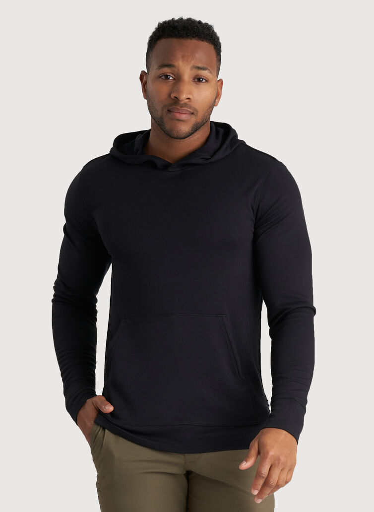 The B.F.T. Hoodie, BLACK | Kit and Ace