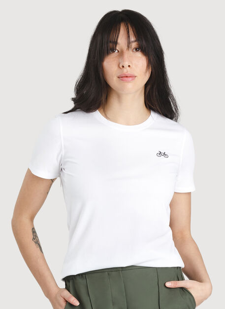 Movement Crew Tee, Bright White | Kit and Ace