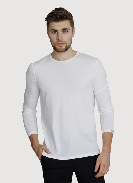 Ace Long Sleeve, Bright White | Kit and Ace