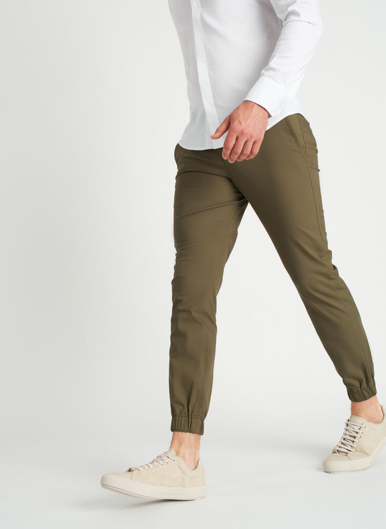 Commute Joggers | Navigator Collection, Sage | Kit and Ace